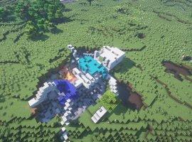 ВMinecraft новый тренд— строить гигантских скелетов