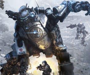В Titanfall 2 вместо роботов используются боевые экскаваторы