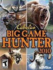 Cabela's Big Game Hunter 2010 – фото обложки игры