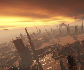 Разработчики Star Citizen показали, как создают огромные города во всю планету