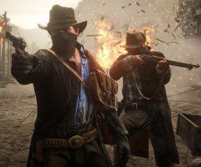 Джон Марстон, Голландец иАртур Морган нановых скриншотах Red Dead Redemption2