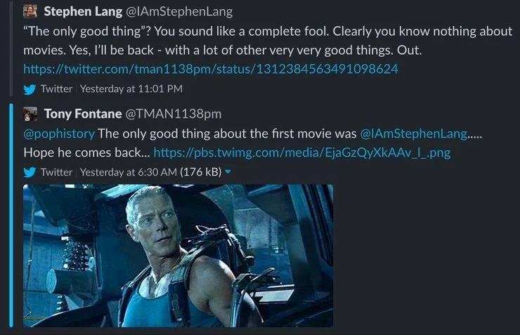 Стивен Лэнг из«Аватара» резко ответил накритику первого фильма | Канобу - Изображение 5041