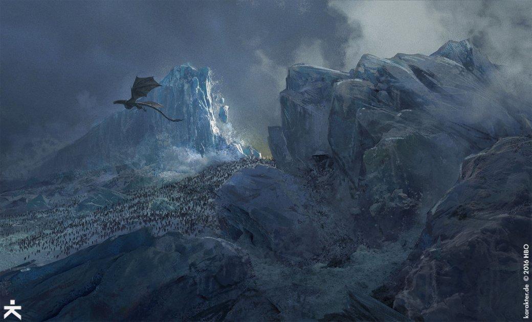 Взгляните напотрясающие концепт-арты 7 сезона «Игры престолов». - Изображение 26