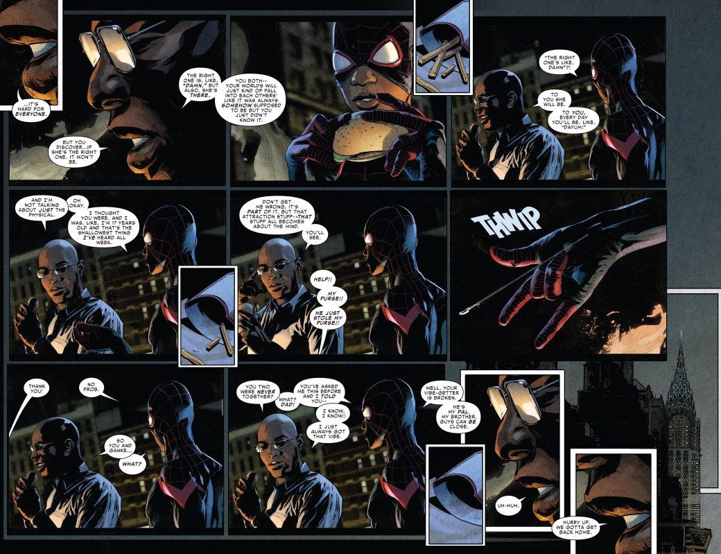 Майлзу Моралесу пришлось рассказать матери о том, что он Человек-паук | Канобу - Изображение 4642