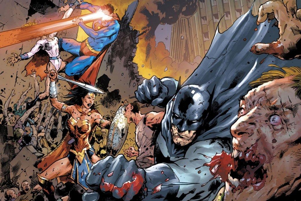 Бэтмен иСупермен против зомби водном изсамых мрачных комиксов этого года | Канобу