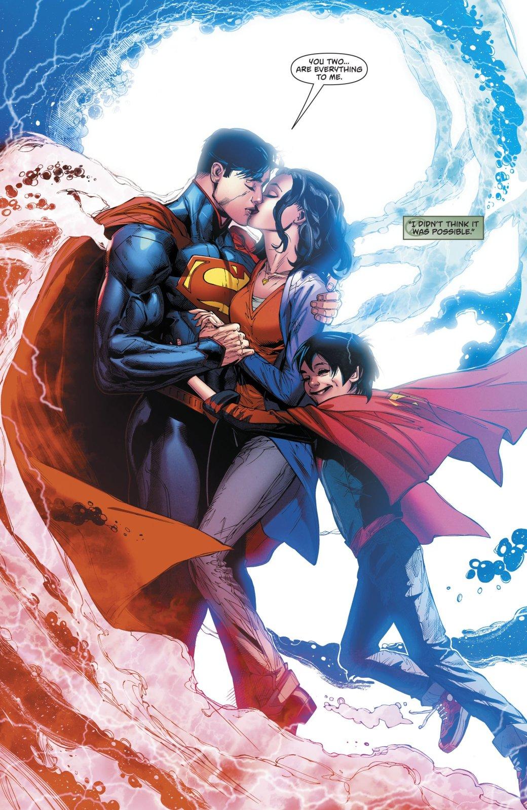 Что случилось с Суперменом в финале Superman Reborn? | Канобу - Изображение 6531
