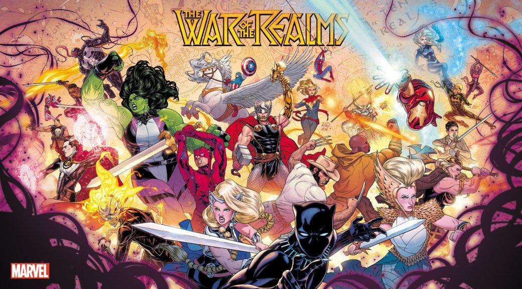 Мифология скандинавов вкомиксах Marvel— отТора иего окружения доисторий вроде War ofthe Realms | Канобу - Изображение 3