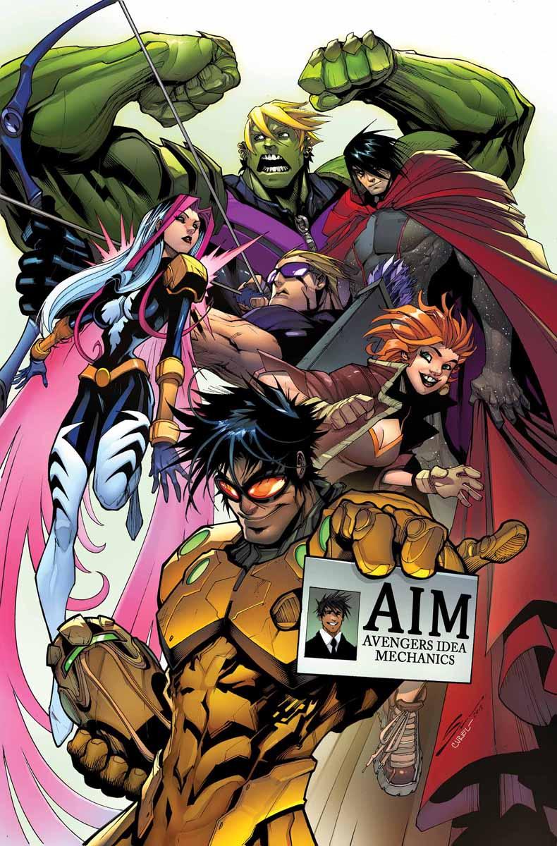В комиксе U.S.Avengers представили нового Халка и Железного Человека   Канобу - Изображение 14576
