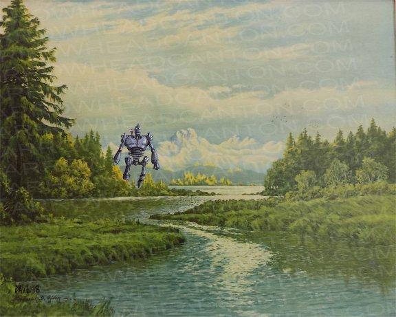 Художник добавляет элементы фантастических фильмов назаурядные пейзажи   Канобу - Изображение 4123