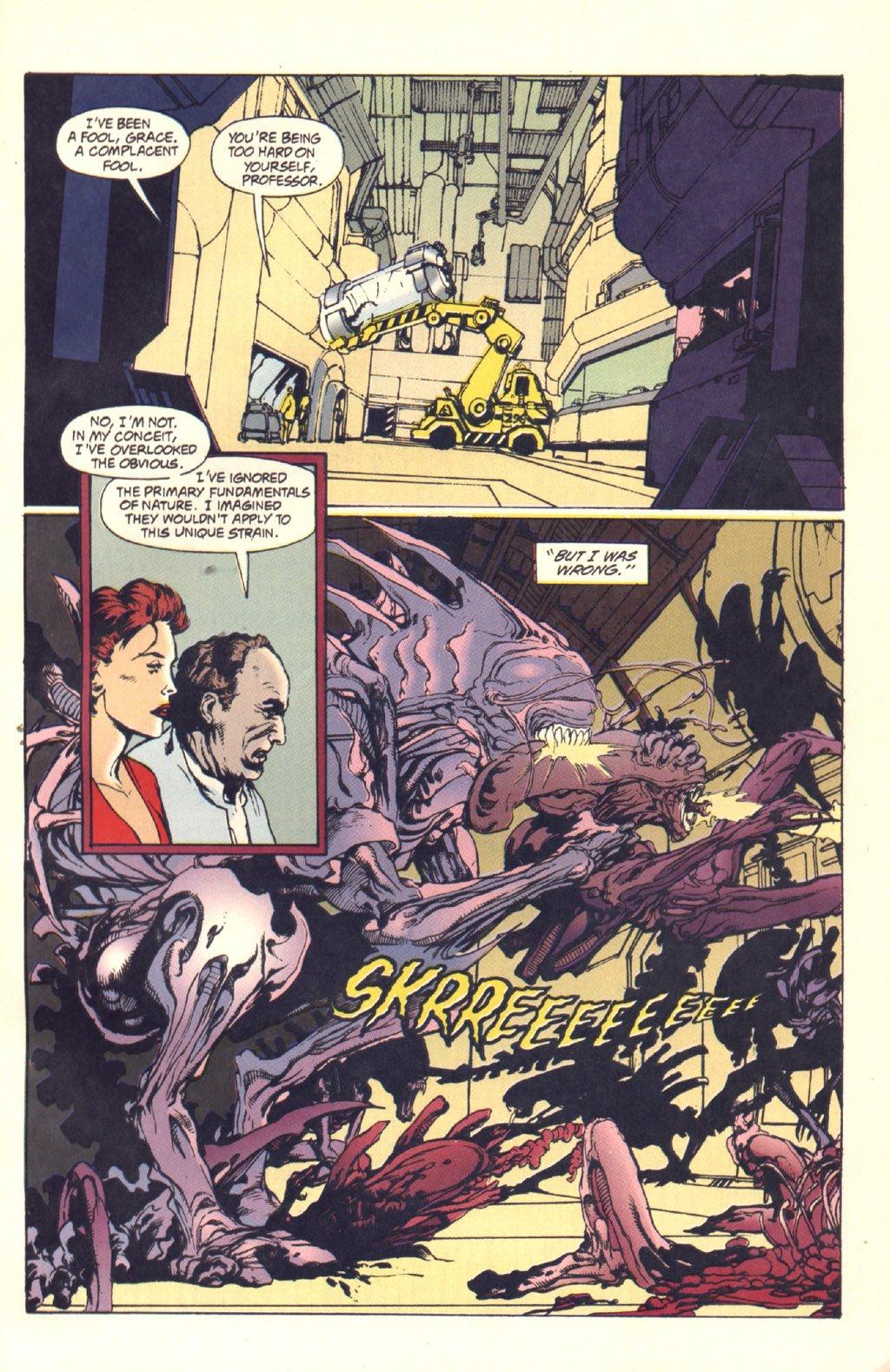 Жуткие комиксы про Чужих, откоторых кровь стынет вжилах   Канобу - Изображение 19