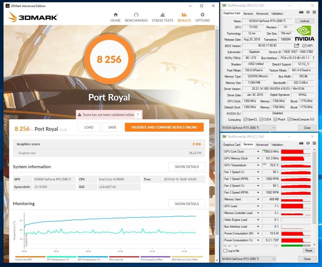 Тестируем видеокарту GeForce RTX 2080 Ti AORUS Xtreme и материнскую плату GIGABYTE Z390 AORUS Xtreme | Канобу - Изображение 39