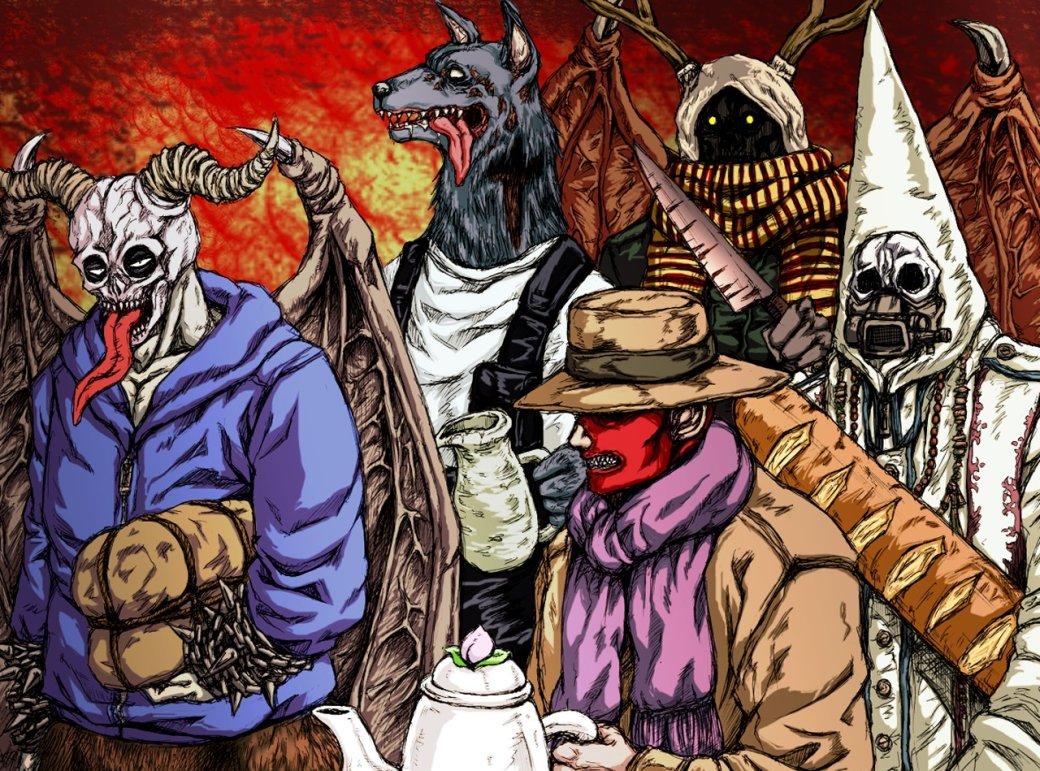 Світ Сатаністів у Аніме