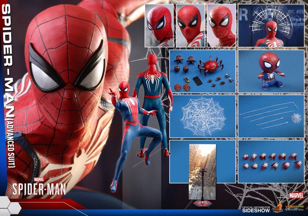 Взгляните на эту детализированную фигурку Человека-паука из игры от Insomniac. Он как настоящий! . - Изображение 16