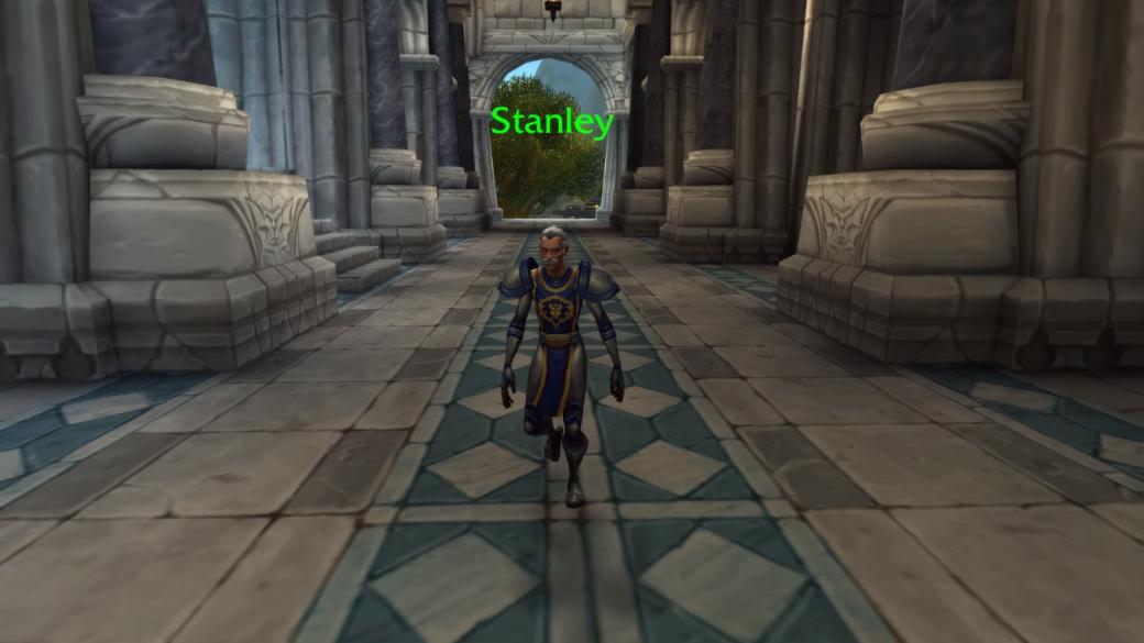 Игроки нашли в World of Warcraft камео Стэна Ли в образе очень худощавого кул-тирасца | Канобу - Изображение 1