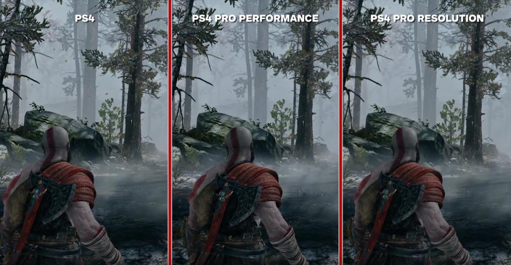 «Требуется орлиное зрение!»: видеосравнение графики God of War на PS4 и PS4 Pro. - Изображение 1