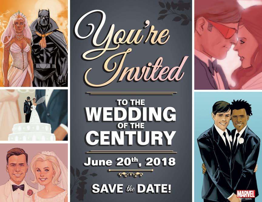 10 самых ярких изначимых свадьб вкомиксах Marvel. - Изображение 1