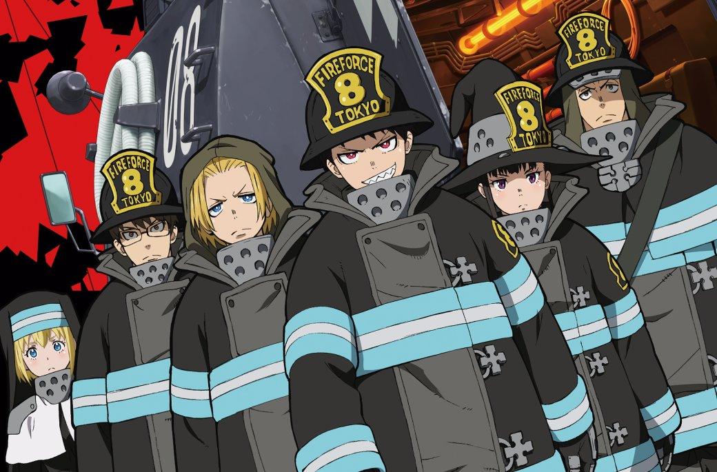Рецензия на аниме Fire Force | Канобу