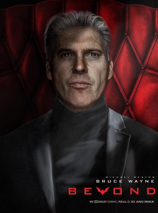 Как бы выглядел Майкл Китон в роли постаревшего Брюса Уэйна в фильме «Бэтмен будущего». - Изображение 2