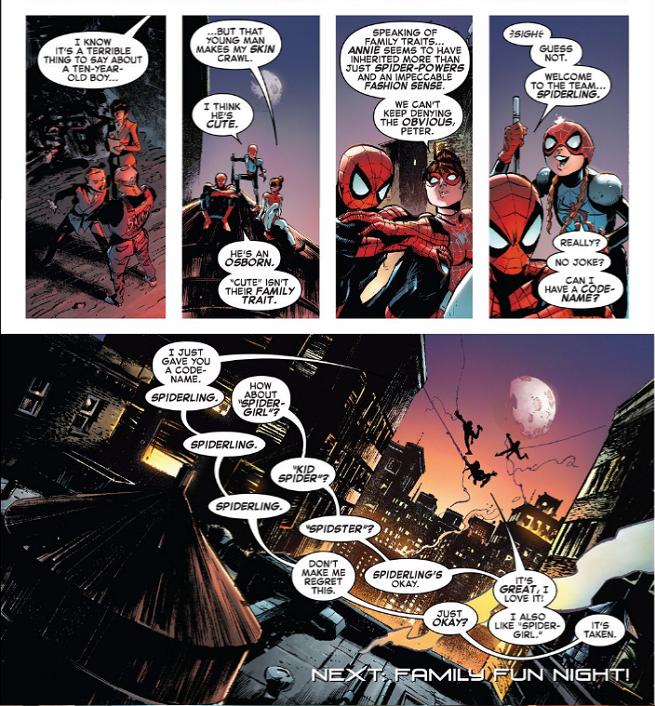 Дочь Человека-паука получила свое супергеройское прозвище   Канобу - Изображение 12078