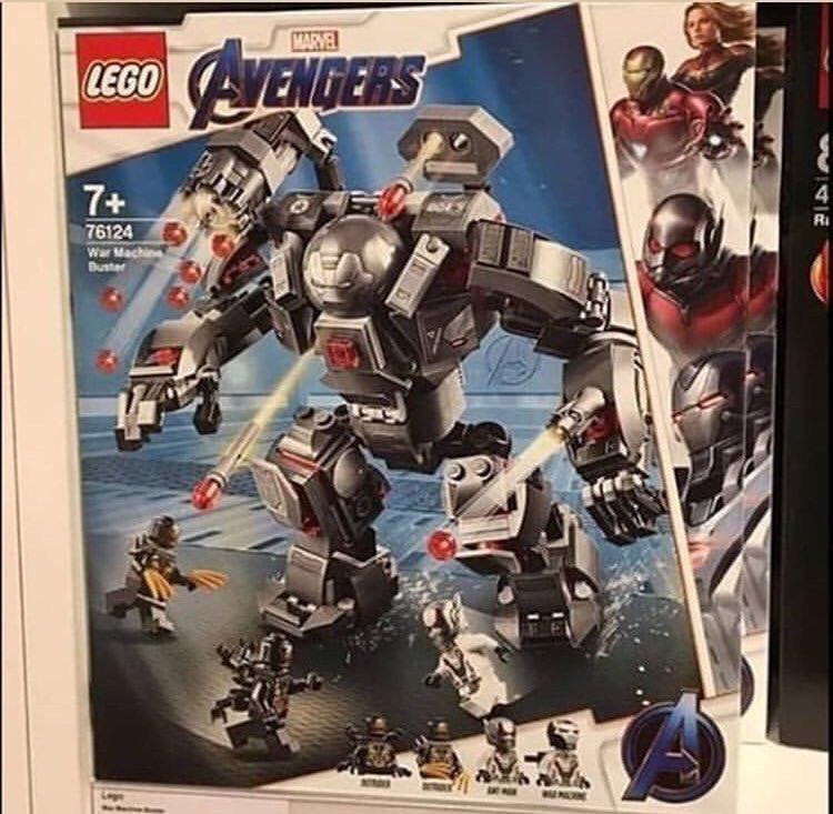 Фото наборов Lego по«Мстителям: Финал» раскрывает вид новой пафосной брони Воителя | Канобу - Изображение 4