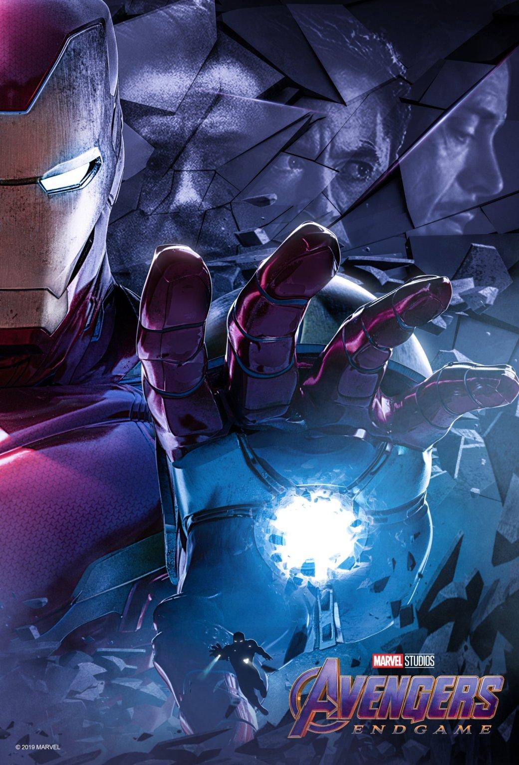 Новые постеры «Мстителей: Финал» отBossLogic посвящены долгому пути оригинальной шестерки вMCU | Канобу - Изображение 2