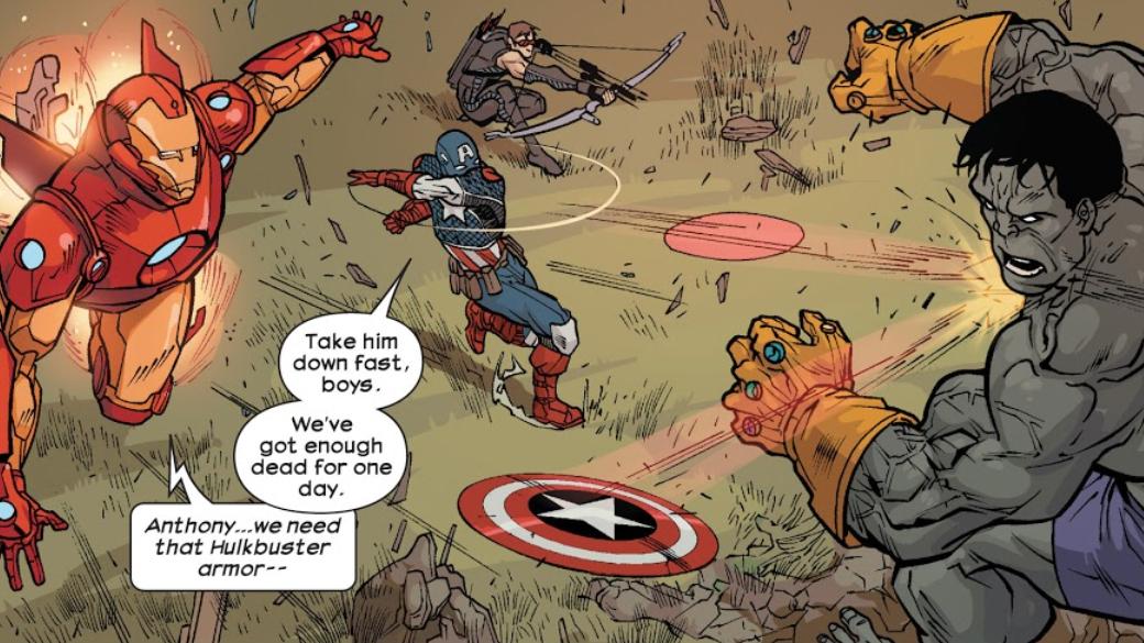 Какие персонажи Marvel, кроме Таноса, использовали Перчатку Бесконечности? | Канобу - Изображение 7