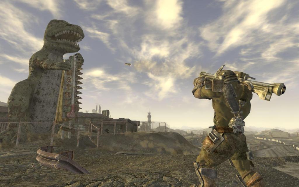 Фанат Fallout: New Vegas рассказал овырезанном контенте игры. Первые ролики онпосвятил Легиону | Канобу - Изображение 684