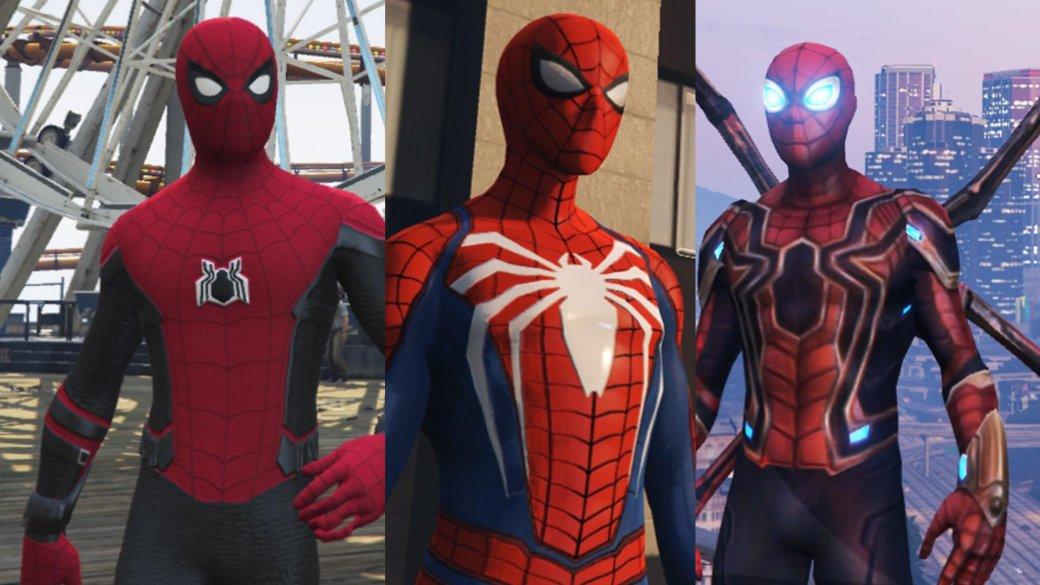 Новый мод для GTA 5 позволит ощутить себя Человеком-пауком, причем вразных вариациях | Канобу - Изображение 1
