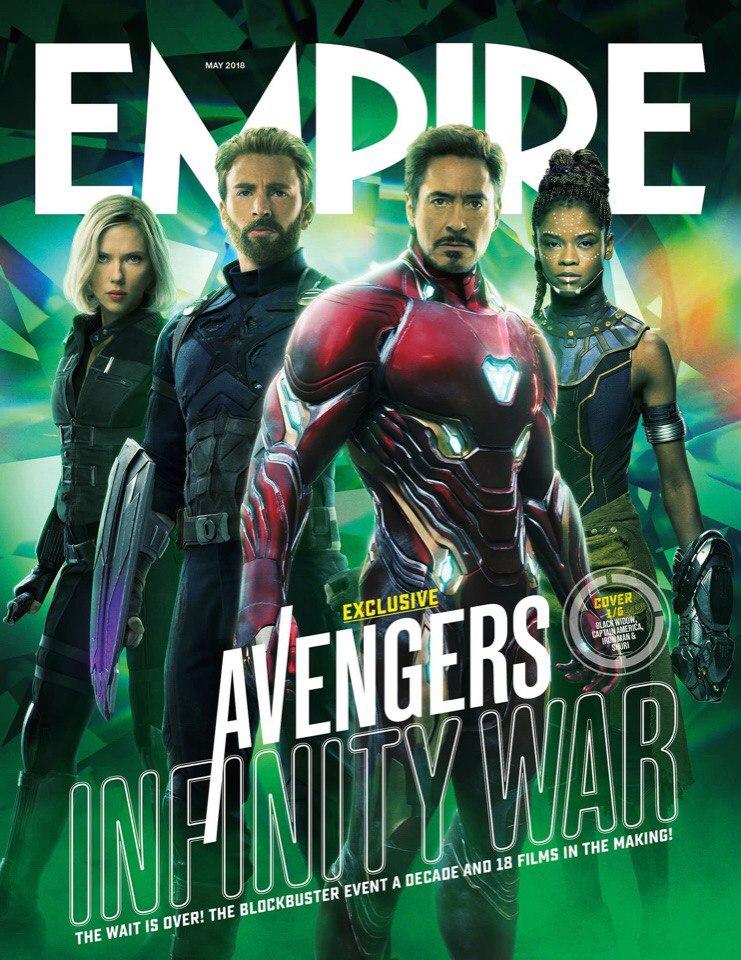 Полюбуйтесь готовыми ковсему героями «Войны Бесконечности» нановых обложках Empire. - Изображение 2