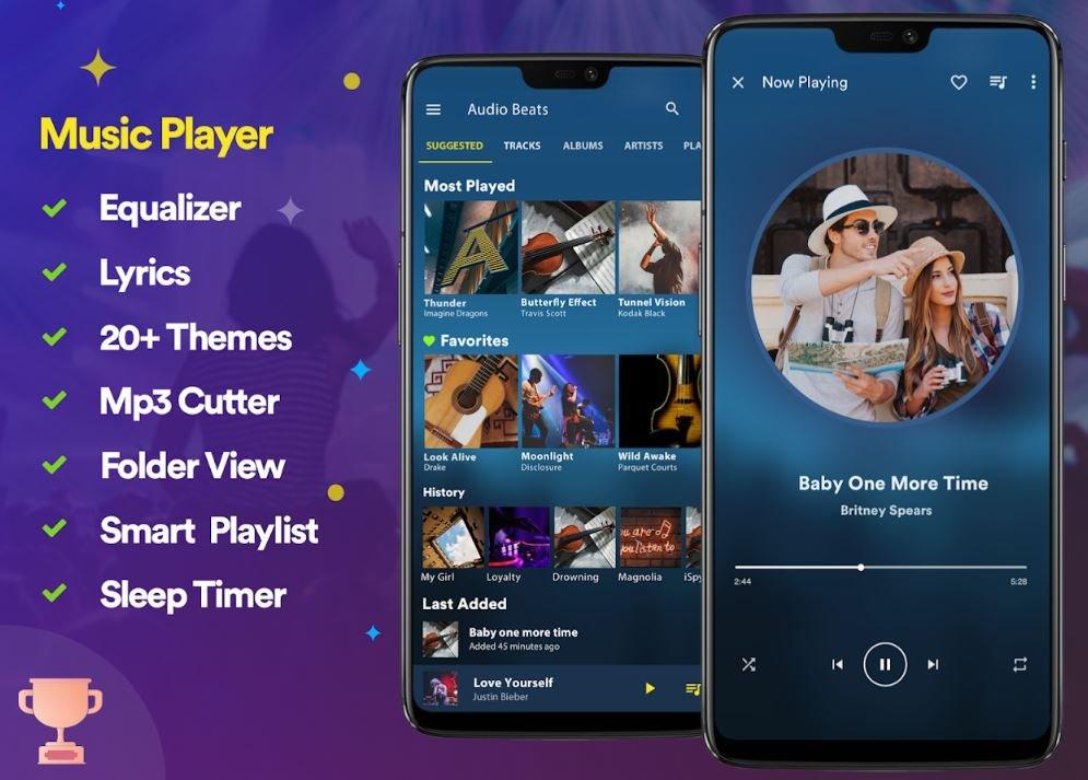 Аудиоплееры для Android - лучшие музыкальные плееры, бесплатные приложения для прослушивания музыки   Канобу - Изображение 4549
