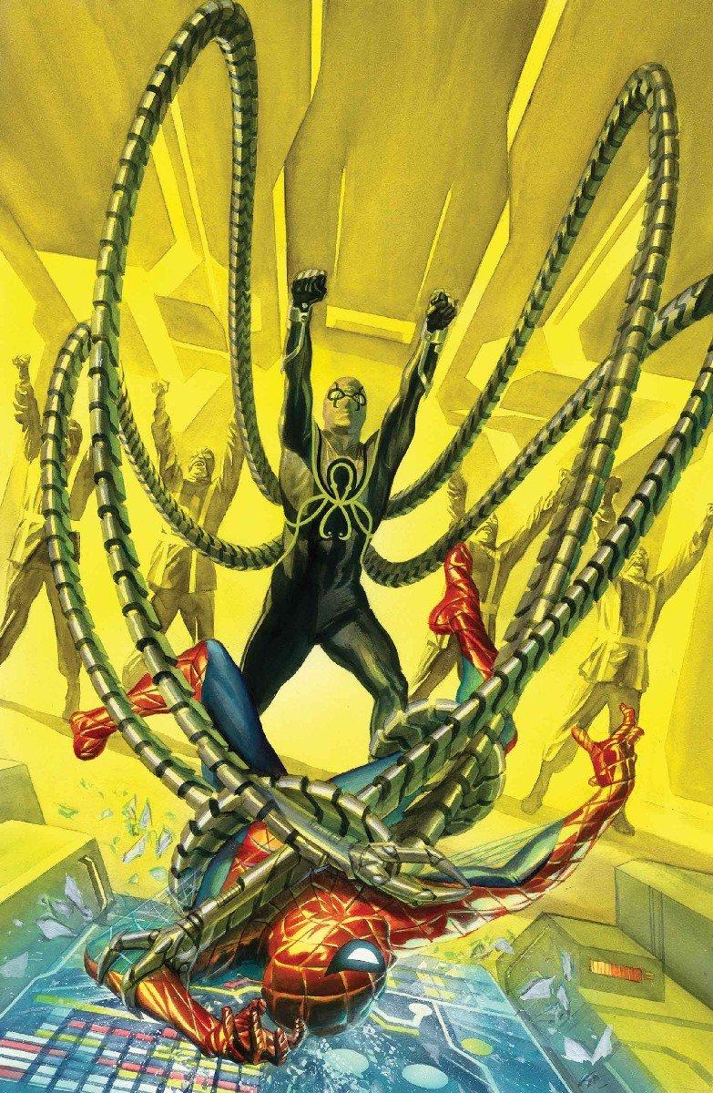 Marvel представила тайную обложку с Человеком-пауком – союзником Гидры | Канобу - Изображение 11822