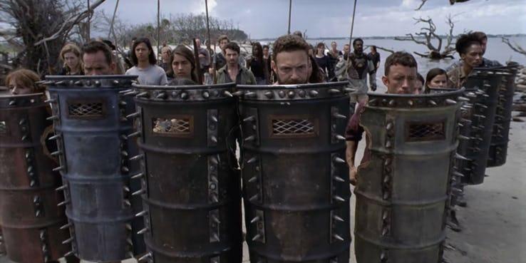Война сШепчущимися уже близко! Что показали впервом трейлере 10 сезона «Ходячих мертвецов»? | Канобу - Изображение 14