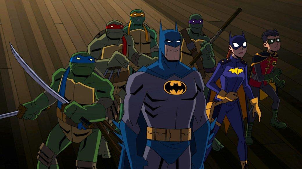 Бэтмен встретится с Черепашками-ниндзя в новом анимационном кроссовере   Канобу - Изображение 2215