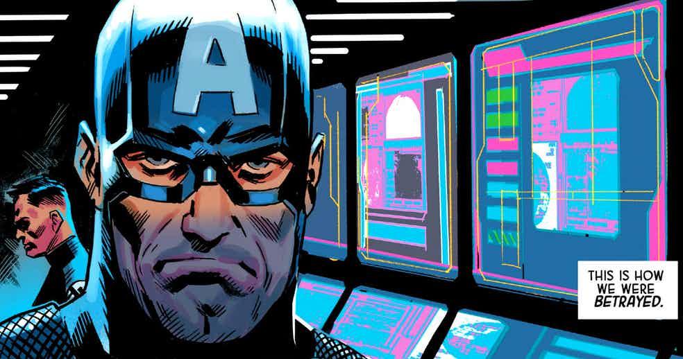 Капитан Америка как лидер Гидры. Галерея ярких моментов Secret Empire | Канобу - Изображение 1