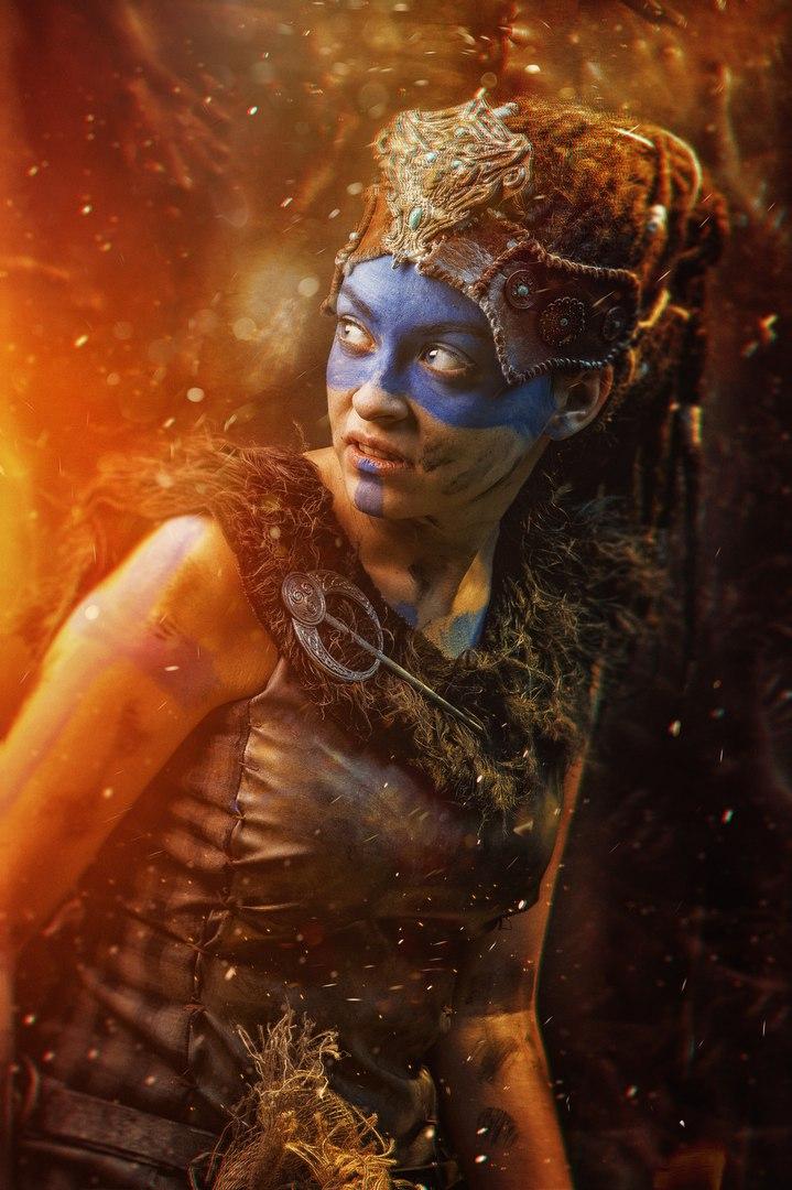 Косплей дня: воительница Сенуа иеегаллюцинации изигры Hellblade: Senua's Sacrifice. - Изображение 5