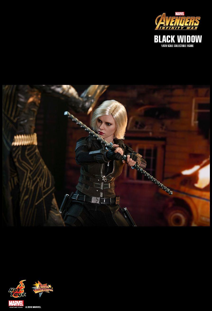 Фигурка Черной вдовы из «Войны Бесконечности» от Hot Toys. Ее можно расчесывать как Барби!. - Изображение 9