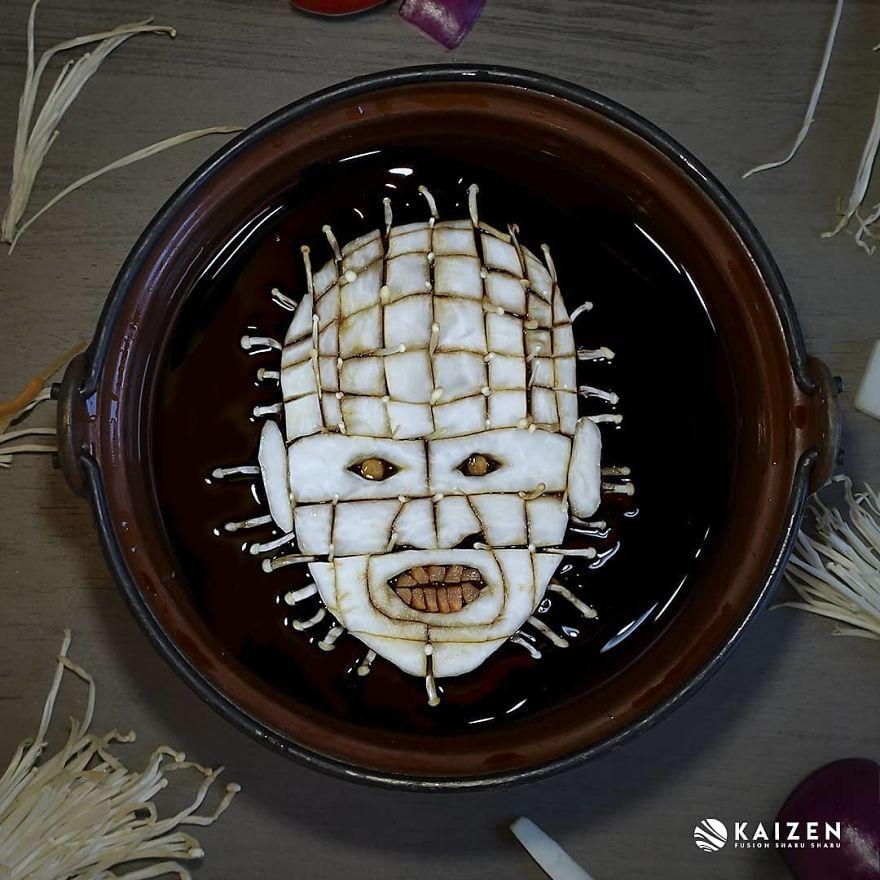 Художница сделала портреты монстров из ужасов из обычной еды   Канобу - Изображение 3734