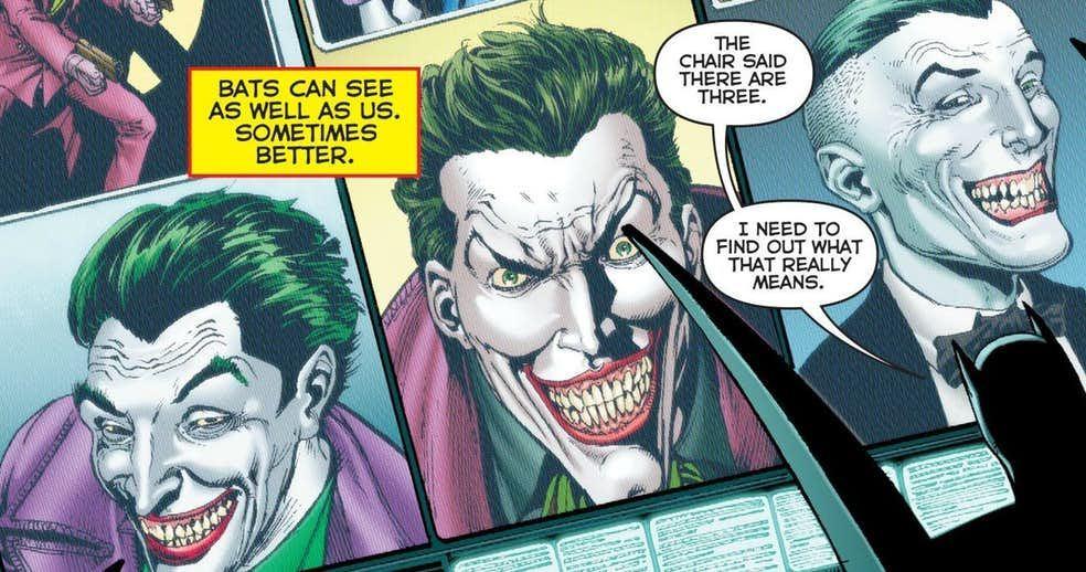 DCнаконец раскроет тайну трех Джокеров— одну изглавных загадок вкомиксах последних лет | Канобу - Изображение 13309