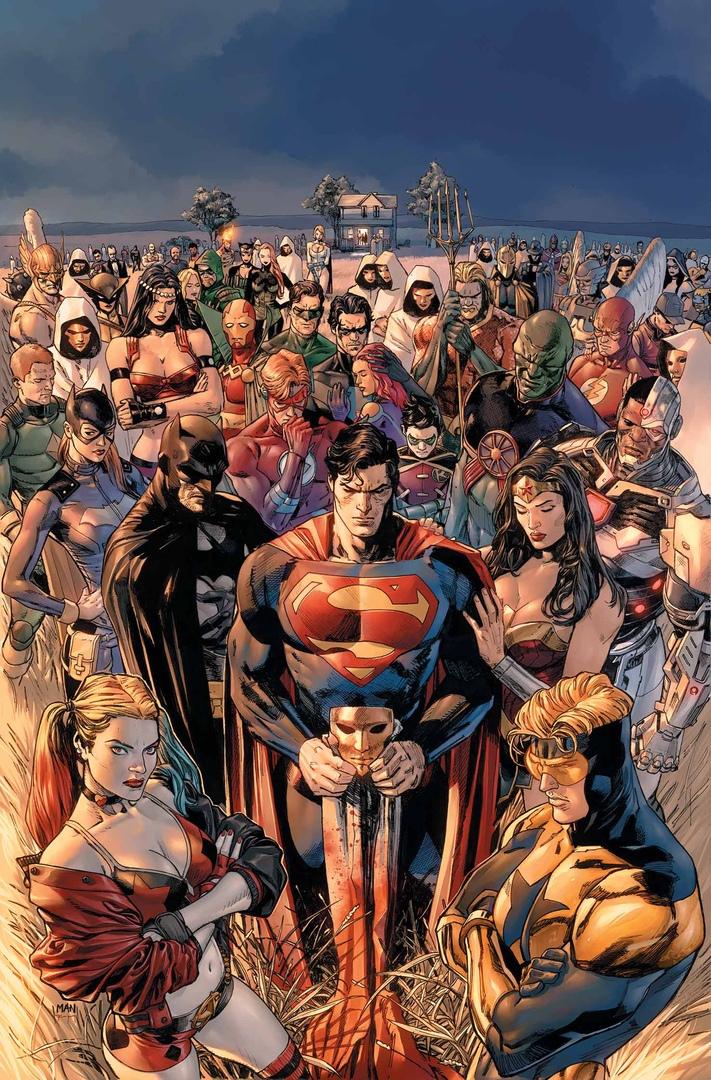Спасать мир— тяжкое бремя! Бэтмен, Супермен иЧудо-женщина помогут героям, переживающим кризис. - Изображение 1