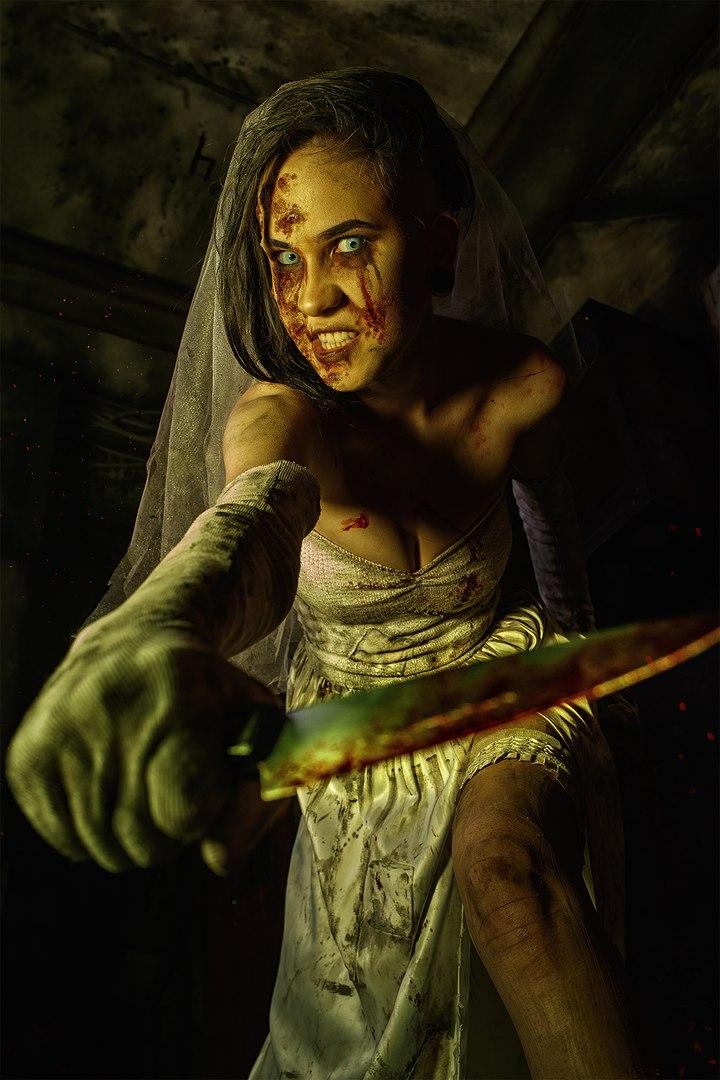 Косплей дня: жуткая невеста из игры Outlast: Whistleblower. - Изображение 7