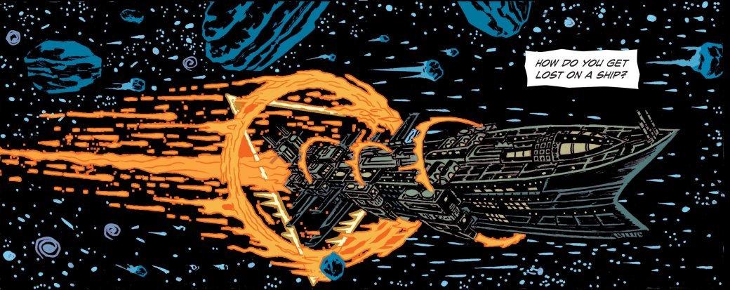 Самые жуткие комиксы про космос, которые вы только можете представить | Канобу - Изображение 1151