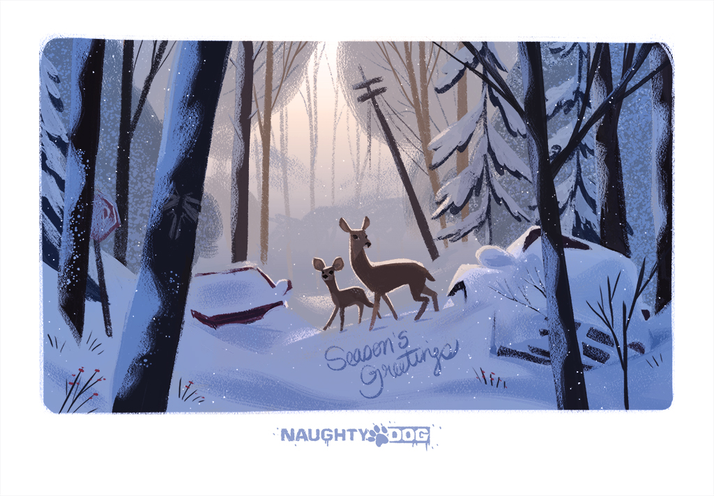 Разработчики поздравляют игроков с Рождеством. Подборка праздничных открыток   Канобу - Изображение 12496