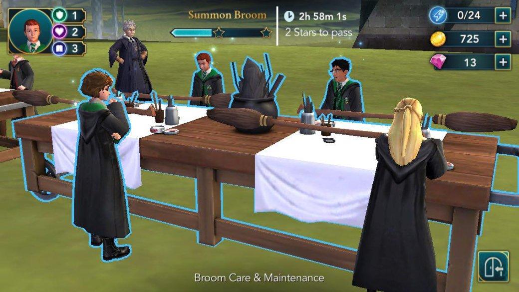 Harry Potter: Hogwarts Mystery — дневник первокурсника . - Изображение 15