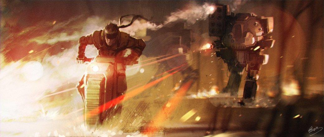 Замечательные фанарты к31-летию Metal Gear отрежиссера ееэкранизации | Канобу - Изображение 31
