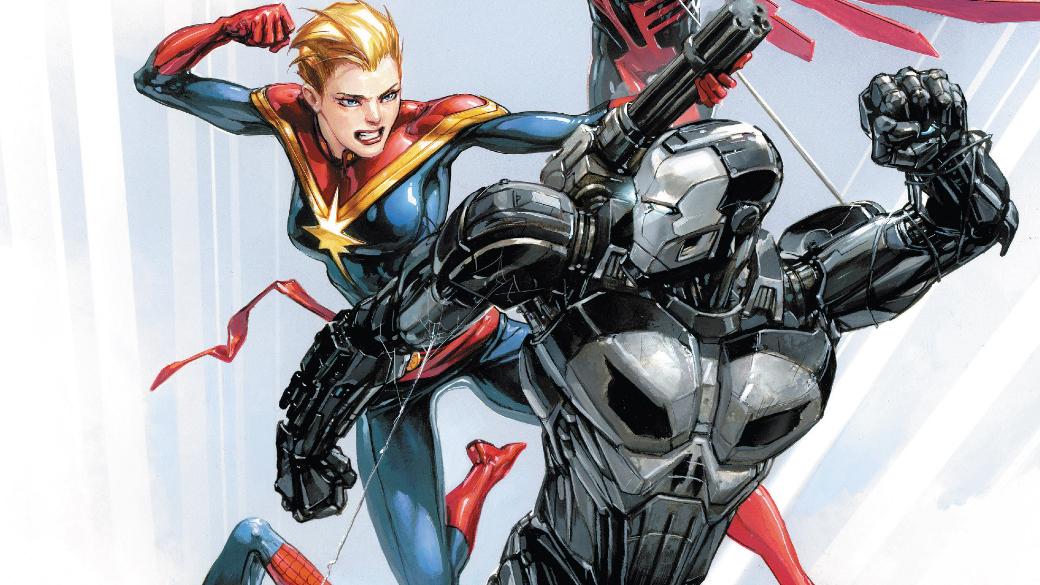 Каратель вброне Железного человека против вселенной Marvel: кто кого?. - Изображение 1