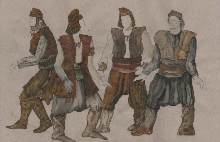 Эскизы костюмов для «Викинга» навевают ужас | Канобу - Изображение 2083