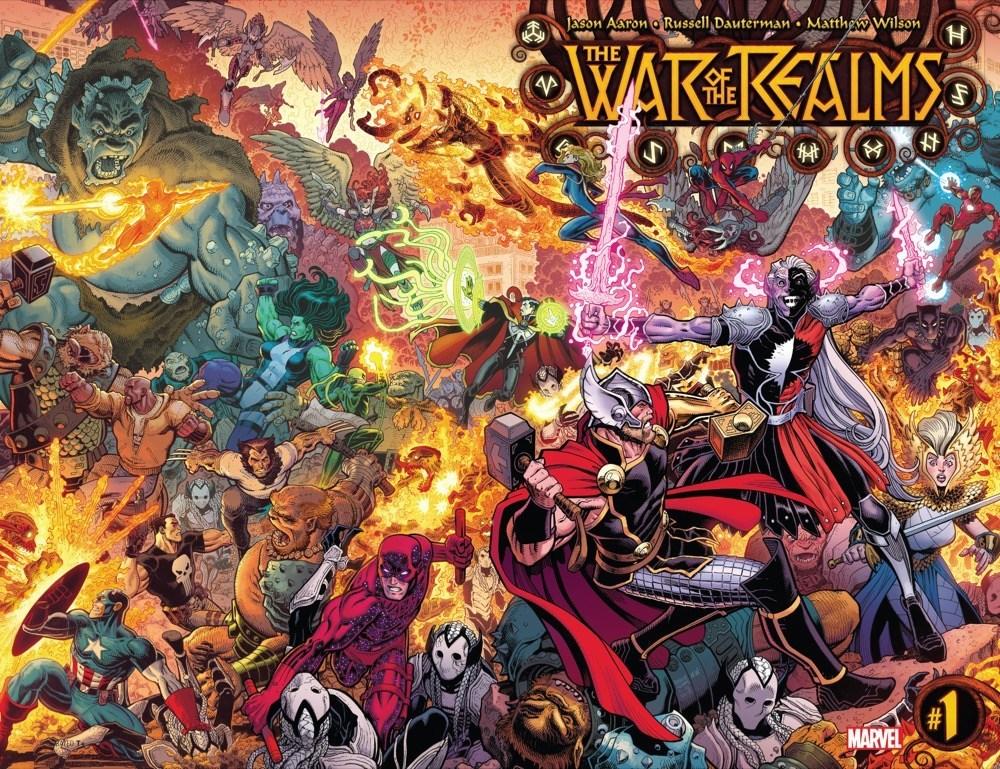 Мифология скандинавов вкомиксах Marvel— отТора иего окружения доисторий вроде War ofthe Realms | Канобу - Изображение 11