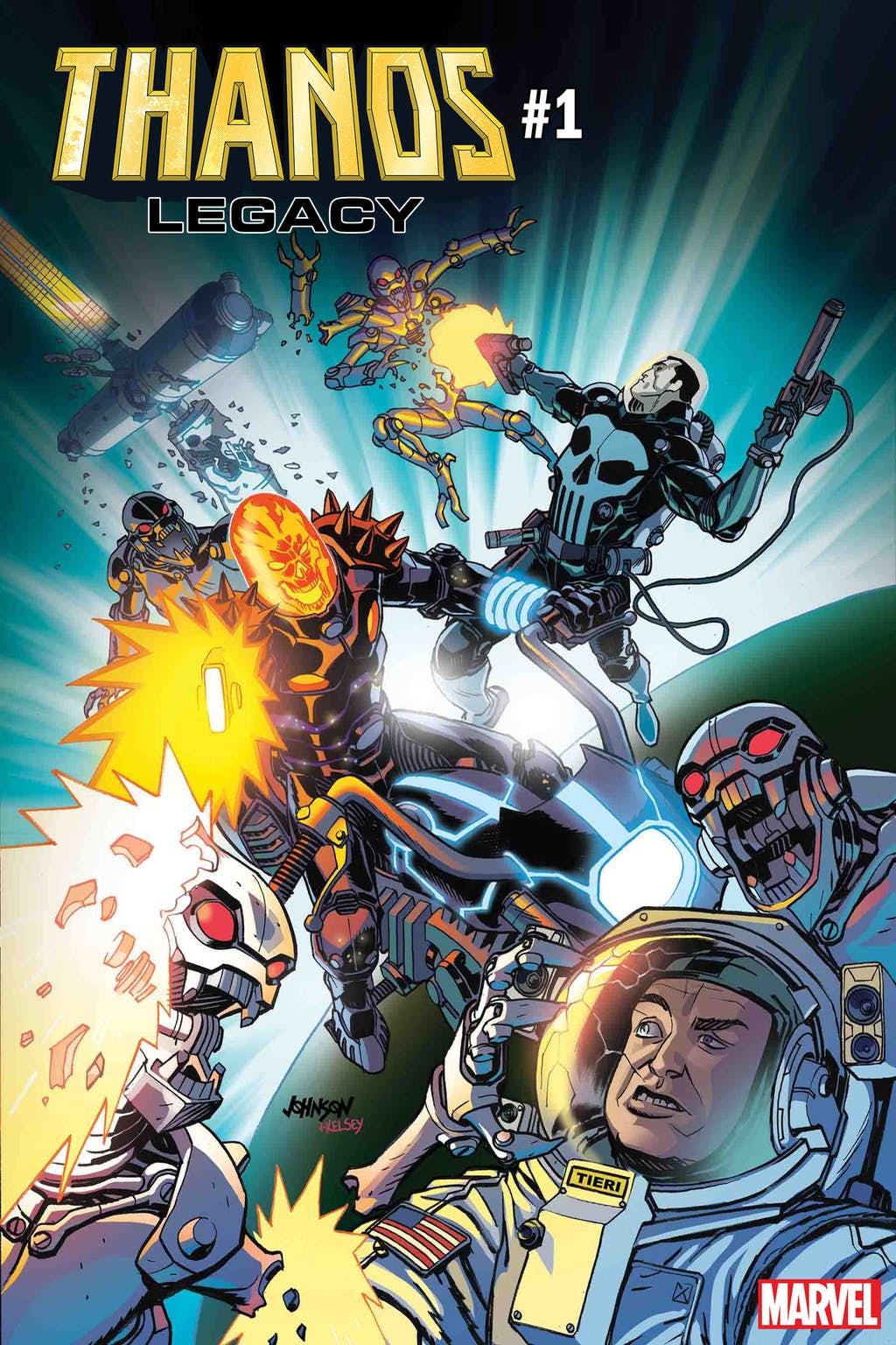 Космический Призрачный гонщик против вселенной Marvel. Правда, пока только навариативных обложках | Канобу - Изображение 6836