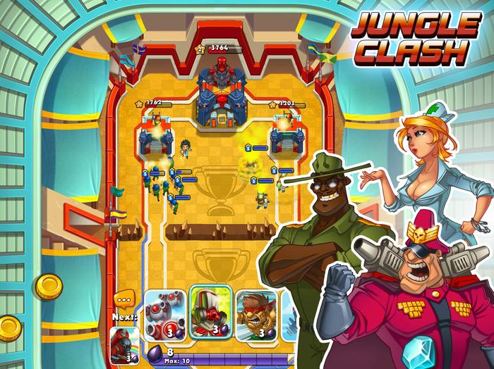 My.Com анонсировала динамичную тактику Jungle Clash | Канобу - Изображение 10406