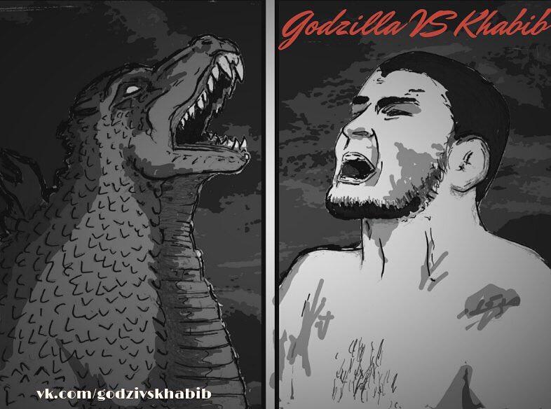 «Годзилла против Хабиба Нурмагомедова»— беседа савторами комикса: оUFC, метамодерне ивдохновении. - Изображение 1